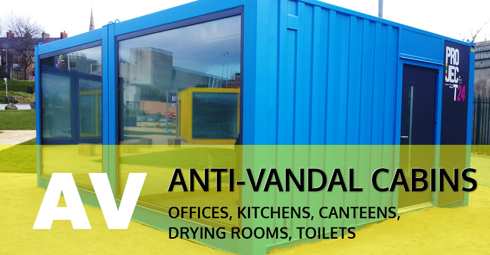 anti vandal cabins UK & Ireland (Northern Ireland)