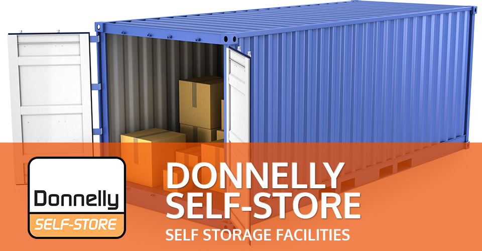 donnelly self storage facilities UK, Ireland and Northern Ireland