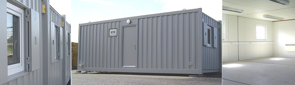 Anti-Vandal Modular System of Cabins, Containers by Donnelly Cabins in Northern Ireland