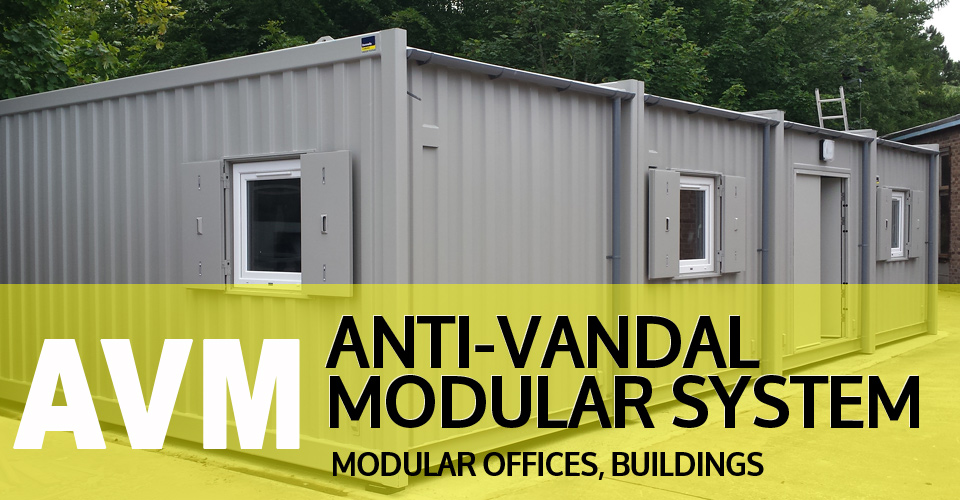 anti vandal modular cabins UK, Ireland and Northen Ireland