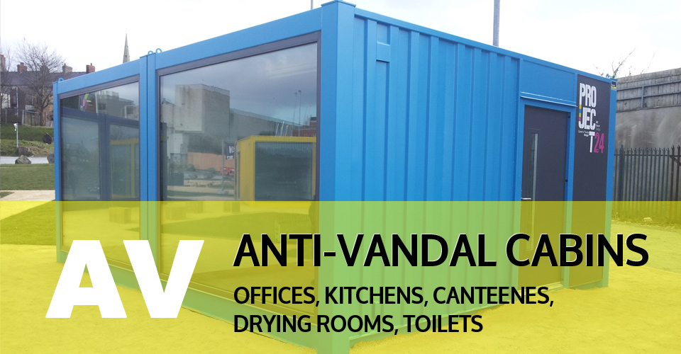 anti vandal cabins UK & Ireland (Northern Ireland)