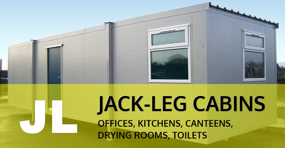 Jack Leg Cabins - UK and Ireland by Donnelly Cabins