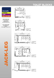 Donnelly Cabins manufacture JL (Jack-Leg Cabins) Toilet Blocks Layouts Range