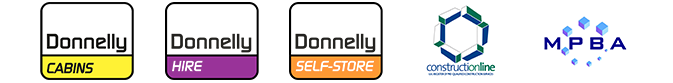 donnelly cabins, donnelly hire, donnelly self-store, contructionline, mpba