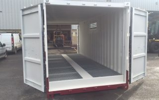 20' Tunnel Container with Bund