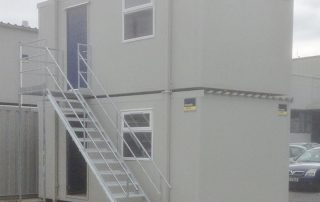 Double Stacked JL Cabins with external stairs